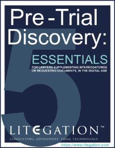pre-trial discovery nj